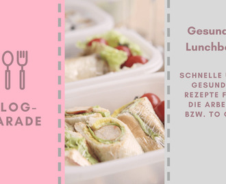 Gesunde Lunchbox {Blogparade}