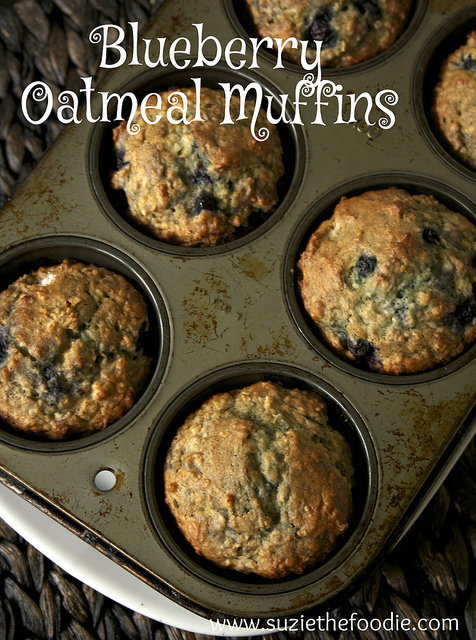 Jeanette's Muffin Formula: Blueberry Muffins