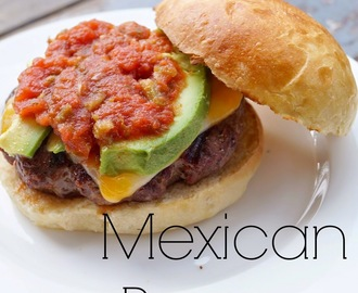 Mexican Burgers with Homemade Brioche Buns