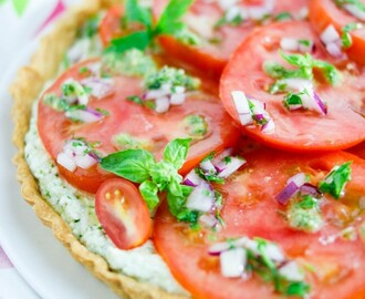 Summer's Bounty: Heirloom Tomato Tart