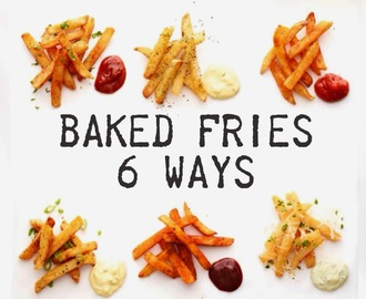 easy spiced fries & dips