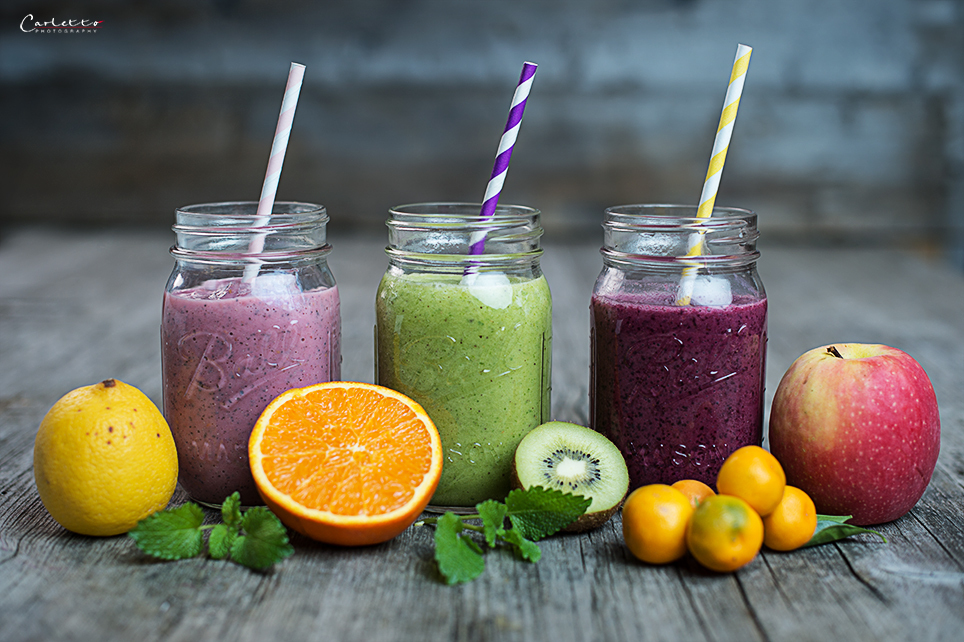 Dreierlei Smoothies mit Nutri Power