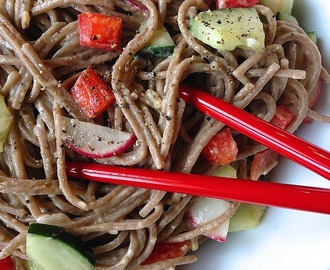 Cold Asian Noodle Salad