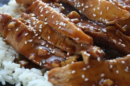 crock pot teriyaki chicken