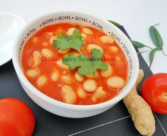 Mauritian Butter Beans in Tomato Sauce (Fricasser Gros Pois)