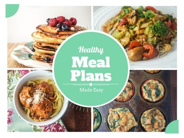Healthy Meal Plans Made Easy + Giveaway