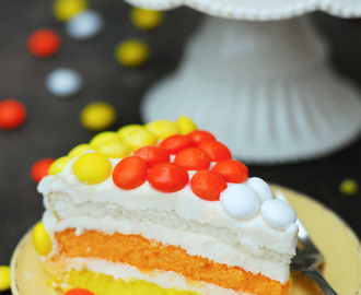 Candy Corn Layer Cake Recipe