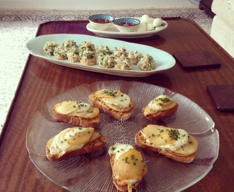 Mother's Day Canapés