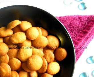 Kerala Bakery Style Egg Biscuits/ Coin Biscuits/