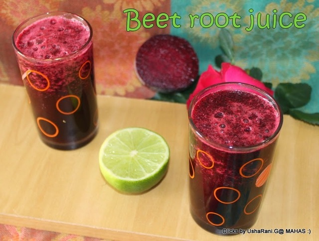Beet lemonade | Beet root lemon juice | Diet juices | Summer drinks | Healthy juice recipes | Beat summer with beets lemon honey juice