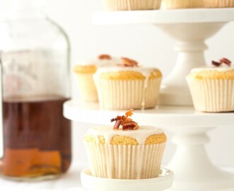 MAPLE, BACON, BOURBON CUPCAKES