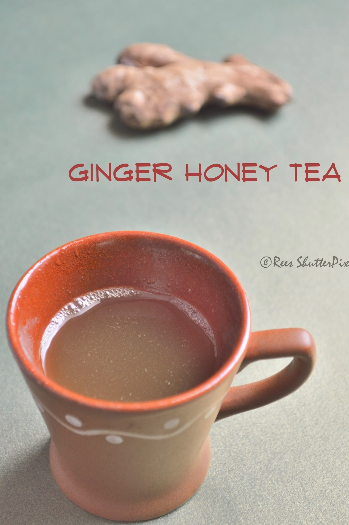 Ginger Honey Drink | Home Remedy for Cold and Cough