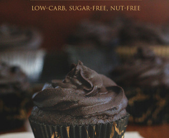 Chocolate Blackout Cupcakes – Low Carb and Nut-Free