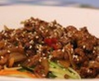 Hoisin Mince Salad