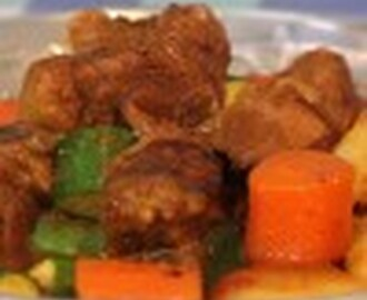 Malay Beef Curry Casserole