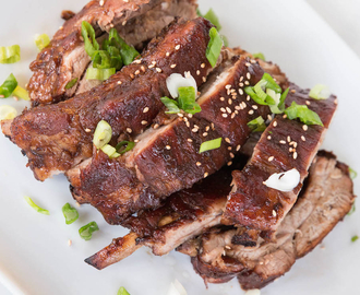 Sweet and Savory Soy Ginger Baby Back Pork Ribs