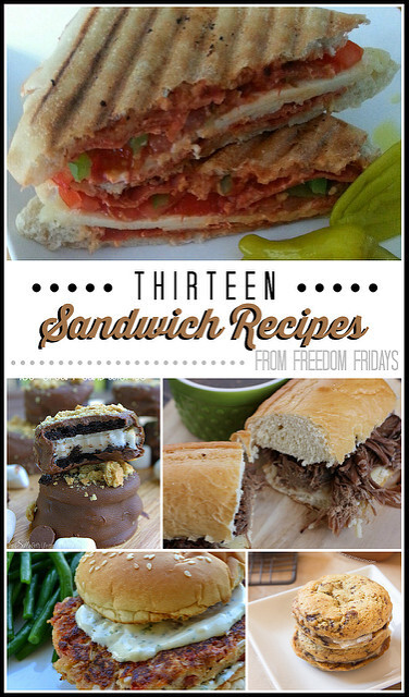 Thirteen Sandwich Recipes from Freedom Fridays