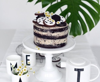 Pfingstferien + Oreo - Naked Cake.