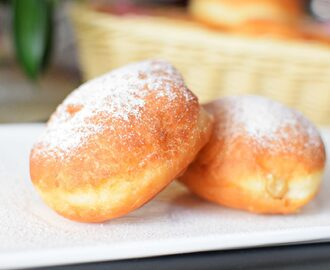 Super Soft Yeast Doughnuts with Boston Cream Filling