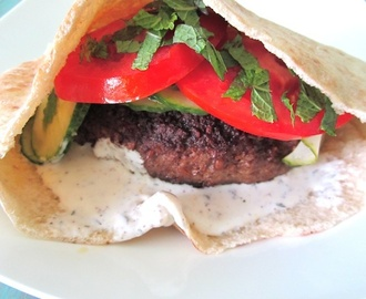 Lebanese burger recipe