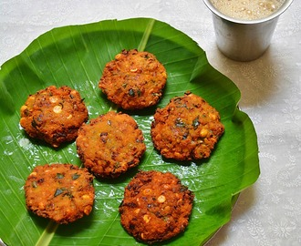 Masala Vada | Paruppu Vadai | South Indian Masal Vada