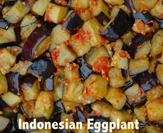 Indonesian Eggplant Chili Sauce