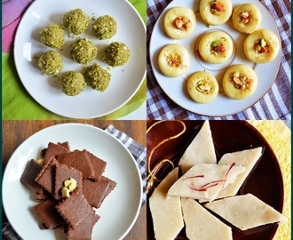 20 easy diwali sweets recipes list