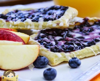 Wild Blueberry Breakfast Strudels