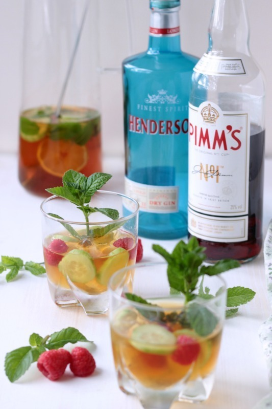 Gin - Pimm`s Cup - Cocktail of the Week