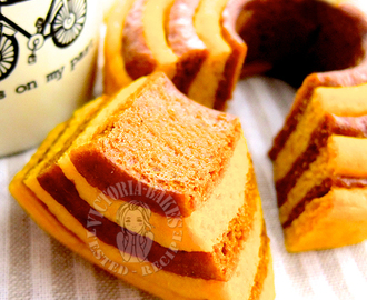 pumpkin layered mantou (steamed bun) 南瓜年轮馒头 (*⌒▽⌒*)θ~♪