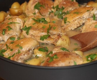 Jacques Pepin Chicken Ragout