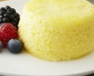 Steamed Lemon Soufflé Cakes