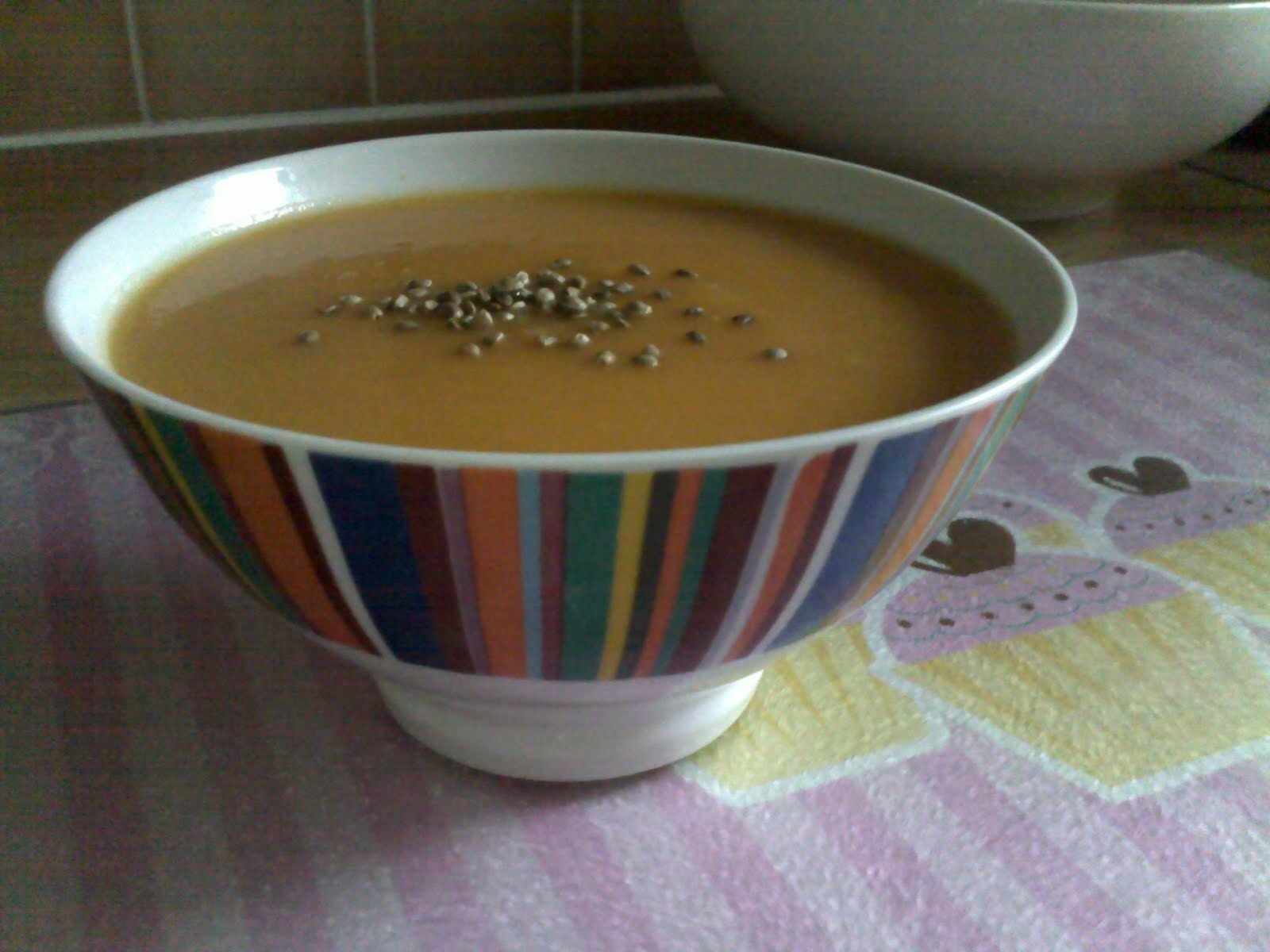 Nourishing butternut soup