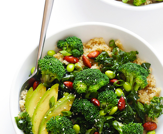 Easy Superfood Quinoa Bowl