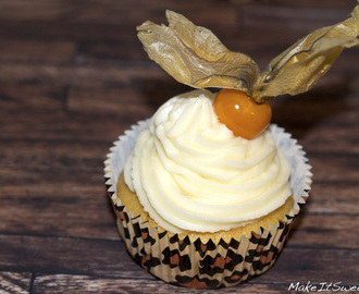 Physalis Muffins mit Topping