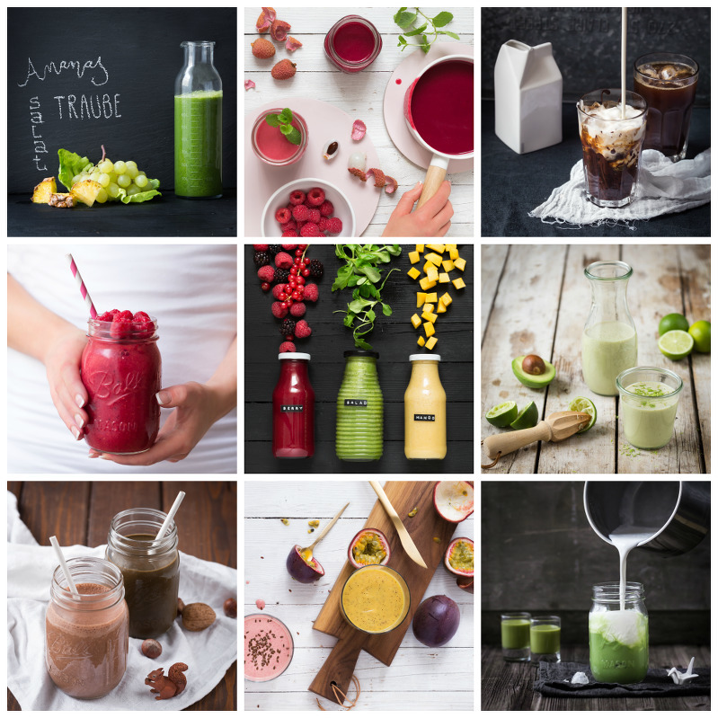 "Behind The Scenes: ""fresh! 190 Smoothies, Säfte & Drinks"""