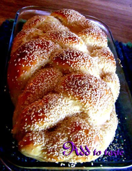 Friday night traditional bread – a recipe