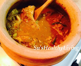 Mangalorean Fish Curry ( Fish in a coriander-cumin flavored coconut sauce)
