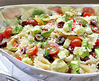 Salade de pâtes à la fêta Weight Watchers