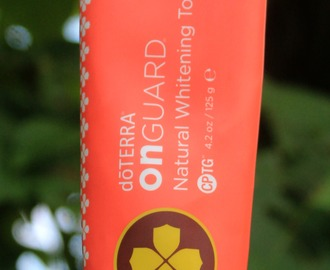 Review: dōTERRA On Guard Natural Whitening Toothpaste – Garner Essentials