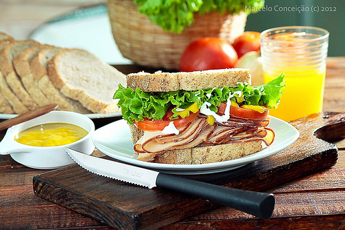 Easy Smoked Turkey Sandwich #SandwichRecipesWorldwide