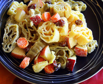 Fruity Chicken Pasta Salad (aka Pinoy macaroni salad)