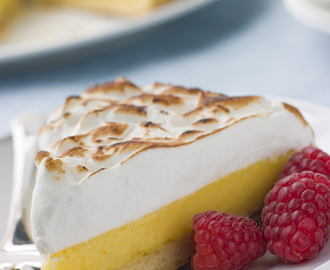 Tangy La Lechera Lemon and Lime Pie