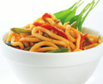 Oriental Noodle & Vegetable Stir Fry