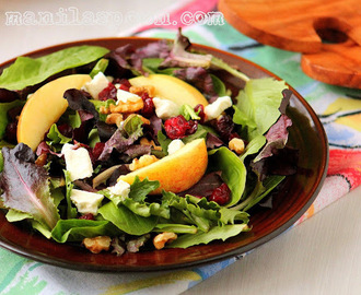 Sweet-Tart Apple Walnut Salad