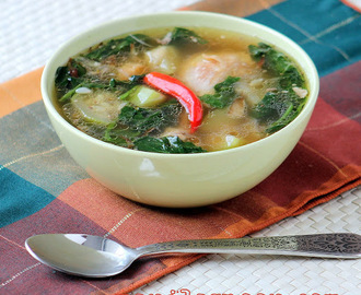 Tinolang Manok (Opo Squash and Ginger Chicken Soup)