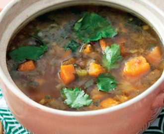 Fragrant vegetable soup