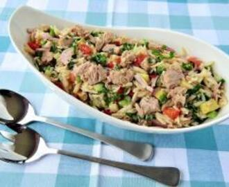 Tuna and Pasta Rice Salad