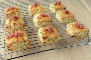 Bacon and Chives Scones