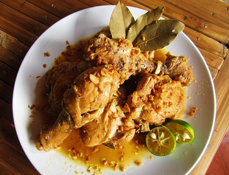 Chicken Adobo sa Calamansi